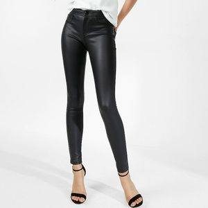 🎀NWT🎀 SP Black Label Faux Leather Skinny Jeans